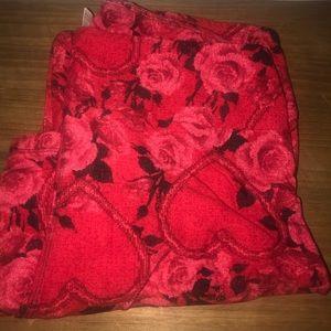 LuLaRoe Heart & Rose Valentines leggings